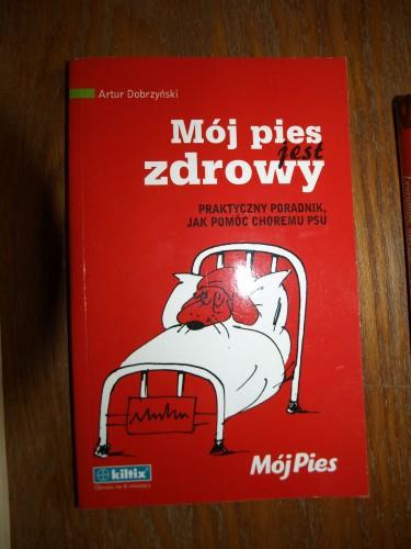 Mój pies jest zdrowy – Artur Dobrzyński (KSIĄŻKA)