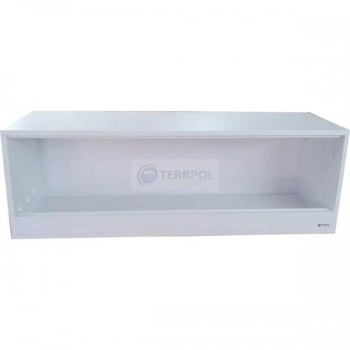 Terrarium dla żółwia 120x40x40 Białe elementy